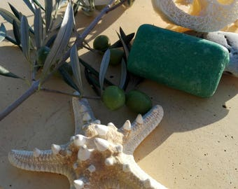 Natural soap with prickly pear oil from Morocco