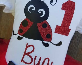 Ladybug Shirt, Ladybug Indie, Ladybug Bodysuit, Ladybug Birthday, Ladybug Top, Ladybug Tshirt