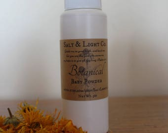 Botanical Baby Powder-diaper rash-zinc-organic