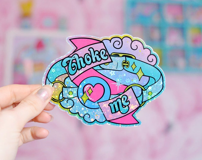 Choke Me, Gag Ball Fetish Sticker Pack