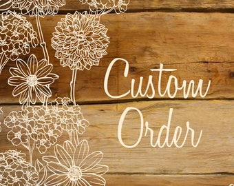 Custom order for Marisol