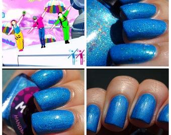 Dragostea Din Tei~BeachClub Summer Collection Neon Blue Crelly 10ML