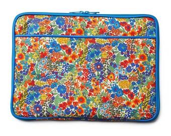 11/13 inch Laptop Case Bag :  LIBERTY Margaret Annie (Navy)