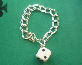 Charm from polymer clay bracelet