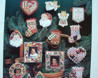 """Dimensions' """"Christmas Cutouts"""" Cross Stitch Booklet [1991]"""