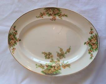 The Paden City Pottery Co. Platter in Golden Acacia