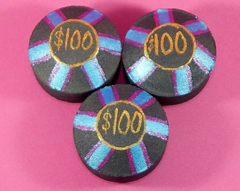 Bath Bomb ~ Poker Chips 3.5 oz