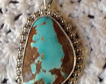Royston Turquoise Perndant