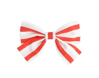RED SAILOR Laraline Bow