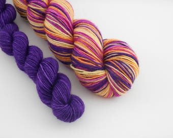 LOVE SOCK self-striping, 030, merino nylon sock yarn,100g