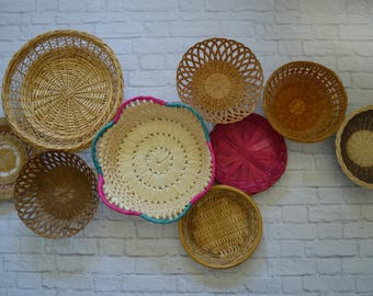 Vintage Basket Collection • Set of 9
