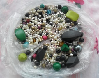 SALE on 1 Bag  of beads for crafts making