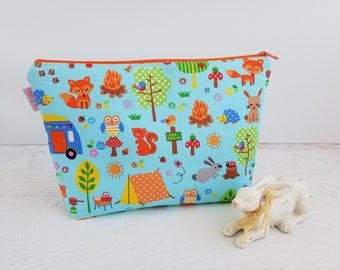 Kids Wash Bag | Kids Travel Bag | Kids Toiletry Bags | Small Toy Storage Bag | Kids Project Bag | Small Zipper Bag | Small Zipper Pouch