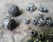 Sterling Silver Bali Beads Mixed Lot The Crow Keeper Destash