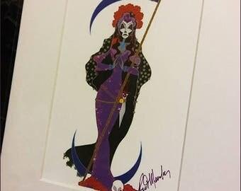 Santa Muerte Color Print (2017)