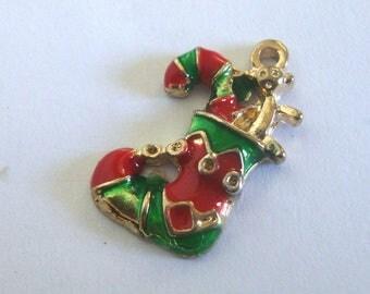 Christmas Charm,Elf Shoe Charm
