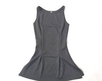40% OFF Vintage Grey Handmade Mini Dress