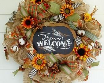 Fall Wreath, Autumn Wreath