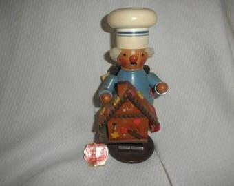 Original Steinbach Smoker Made in West Germany Coo Coo Clock Handmade