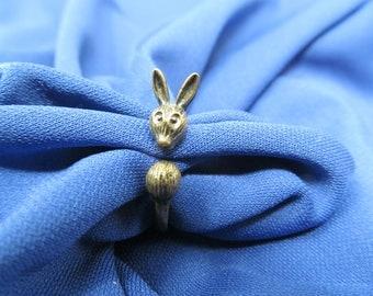 Bunny Rabbit Ring - Size 5.5