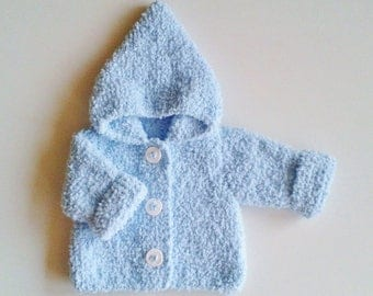 Tuto jacket baby / file PDF sent immediately to Frenchman(French people) and to Englishman / pattern baby cloth / explanations baby cloth
