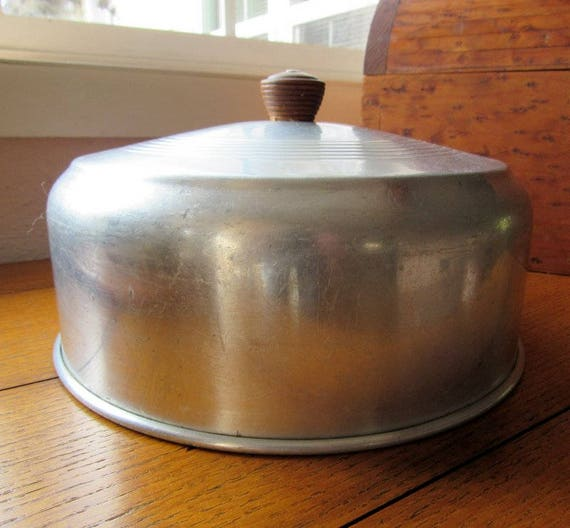 Vintage Aluminum Cake Cover