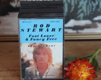 Rod Stewart  Foot Loose and Fancy Free Cassette Tape -M5W 3092