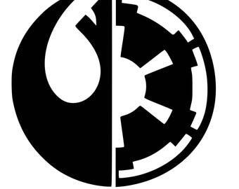 Star Wars Choose Wisely SVG File!