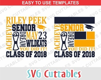 Graduation svg, senior svg, graduation Subway Art SVG, DXF, EPS, template svg, class of, silhouette, cricut cut file, digital download