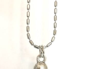Tibetian Silver Sweet Mickey Necklace