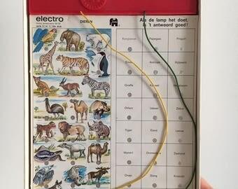 Vintage seventies Electro Quiz
