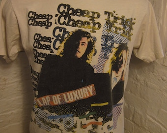 Size L (44) ** Rare 1988 Cheap Trick Concert Shirt  (Double Sided)