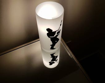 Bruce Springsteen Frosted Glass Table Lamp