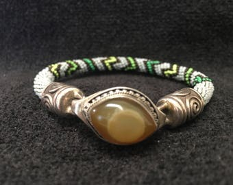 Bracelet ~ Peyote Stich perlage artiste: John Binzley