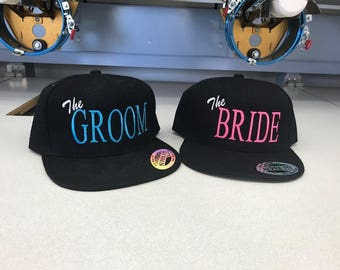 Bride and Groom Hats
