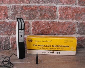 FM Wireless Microphone, Longines Symphonette, Vintage Microphone, Vintage Wireless Microphone, Mic, Microphone, Longines,