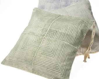 Chair Cushion Cover, replaceable cover for seat cushion for dinning room or outdoor area.