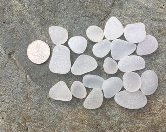 Genuine Beachglass  Seaglass  Jewelry supply lot