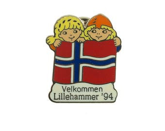 Lillehammer Olympic Pin