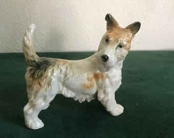 Vintage Karl Ens Terrier Dog Figurine