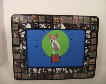 Photo-Mosaic Picture Frame - New Orleans City Park