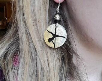 Pole Dancer Earrings
