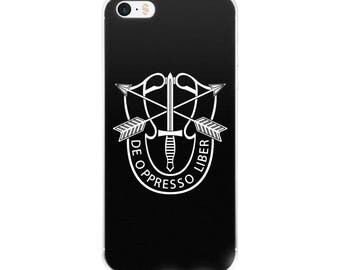 Special Forces iPhone Case