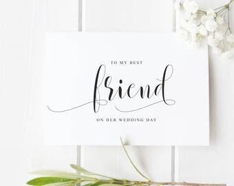 Wedding Card For Best Friend Her Sister Mum