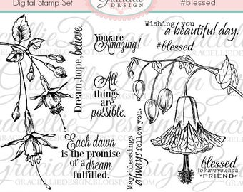 Blessed Duo Digital Stamp Set