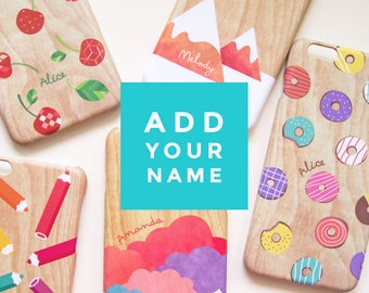 Personalize your case (ADD-ON) / Custom name on your case
