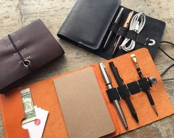 Ledr | Workbook - active leather journal