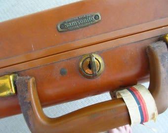 Vintage Samsonite Briefcase Luggage