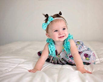 Spring Dress with Bloomers, Floral Dress, Dress with Bloomers, Baby Girl Dress, Toddler Dress, Summer Dress, Sizes 3/6mths-5t