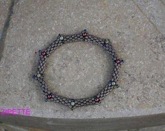 Grey Bangle Bracelet